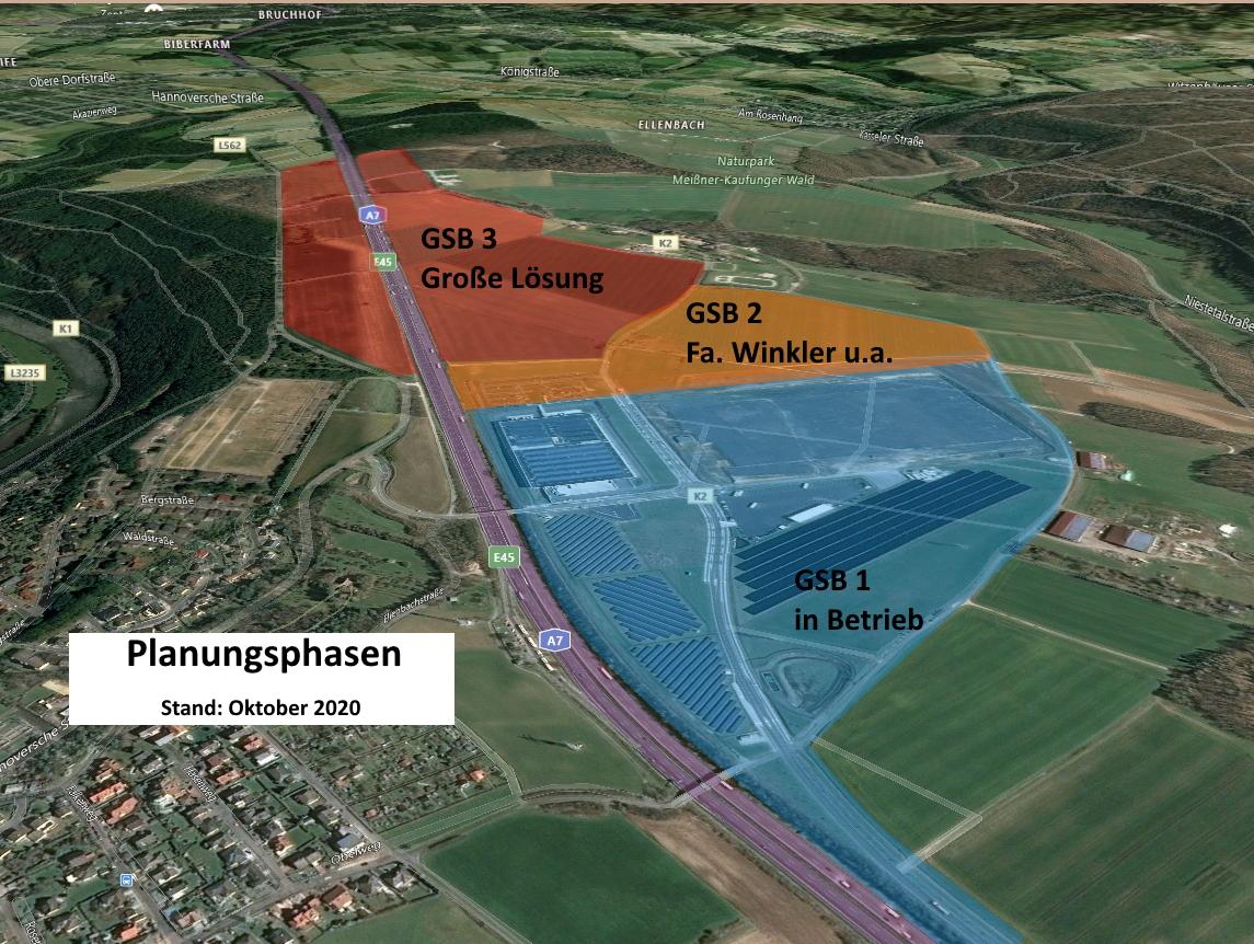SPD-Fraktion steht für eine qualitativ hochwertige Erweiterung des Gewerbegebietes am Sandershäuser Berg