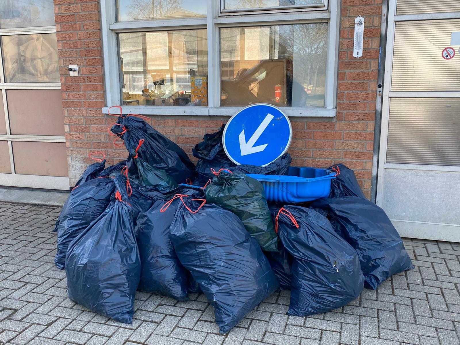 Taten statt Worte – Müllsammelaktion der SPD Niestetal