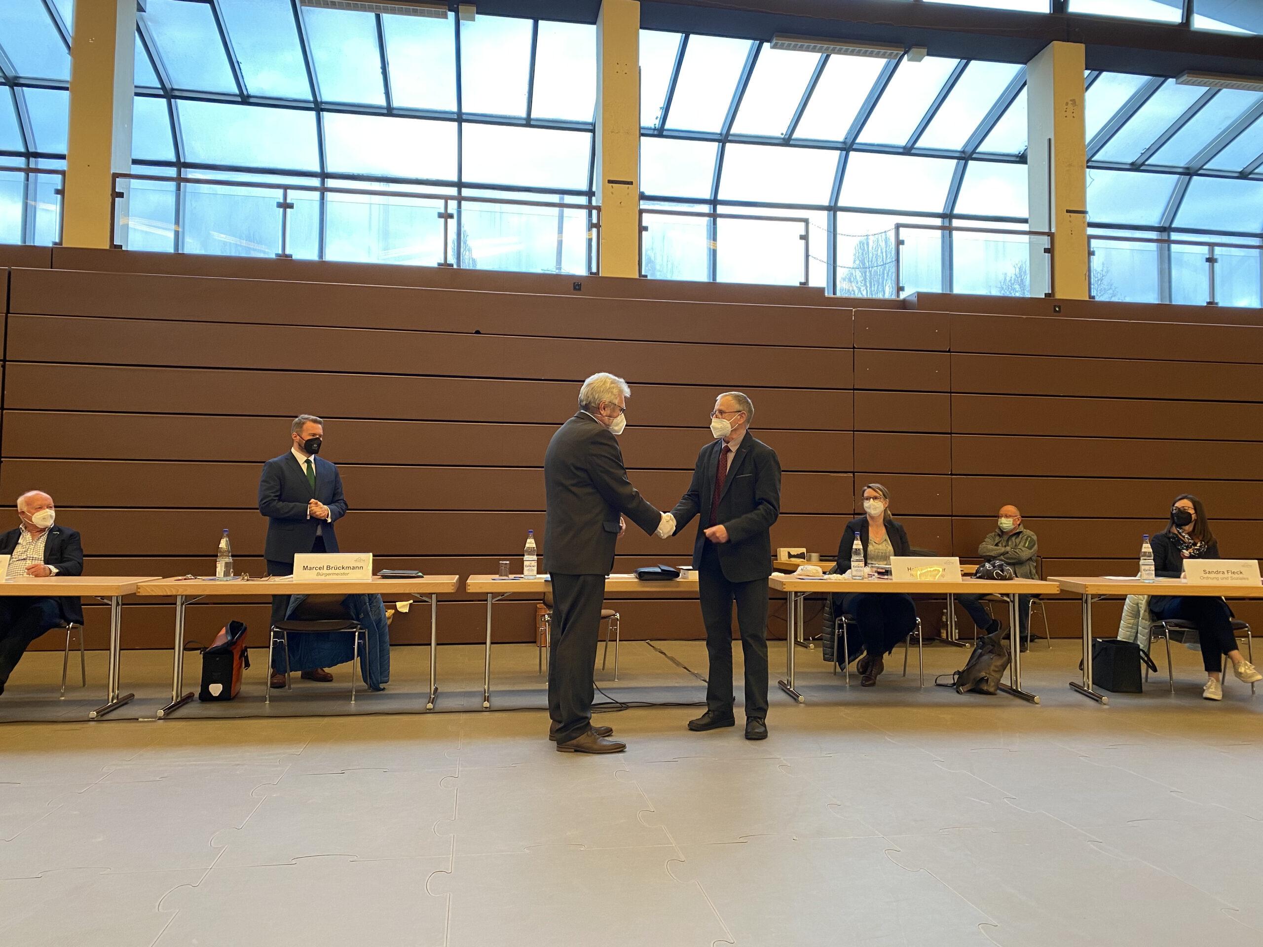 Volker Hammermüller wurde 1. Vorsitzende der Gemeindevertretung