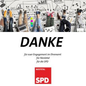 Wir sagen DANKE: SPD bedankt sich bei ausgeschiedenen Kommunalpolitiker*innen und Unterstützer*innen